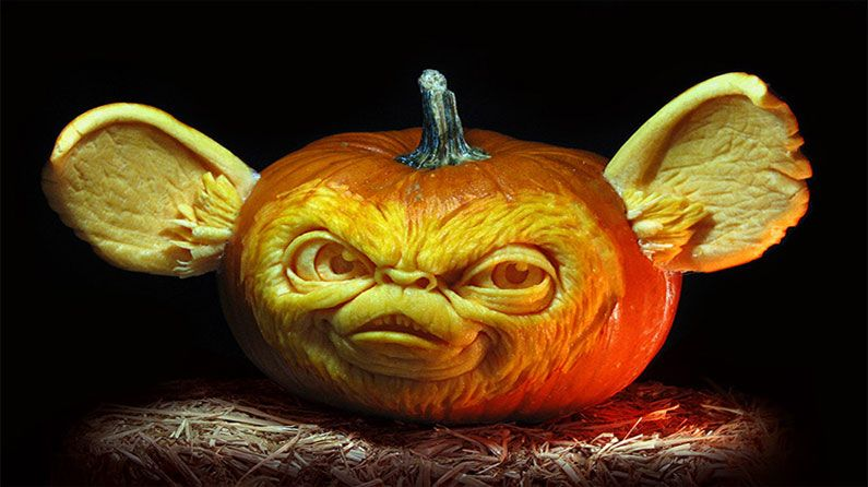 Mindblowing Pumpkin Carvings Pumpkin Carving And Pumpkin - Mind blowing pumpkin carvings by ray villafane 2