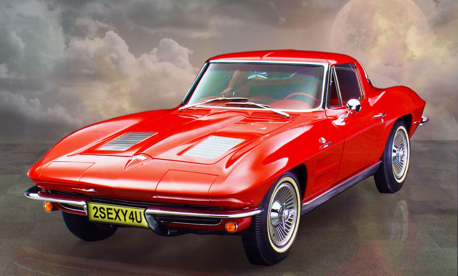 Old Corvette Stingray