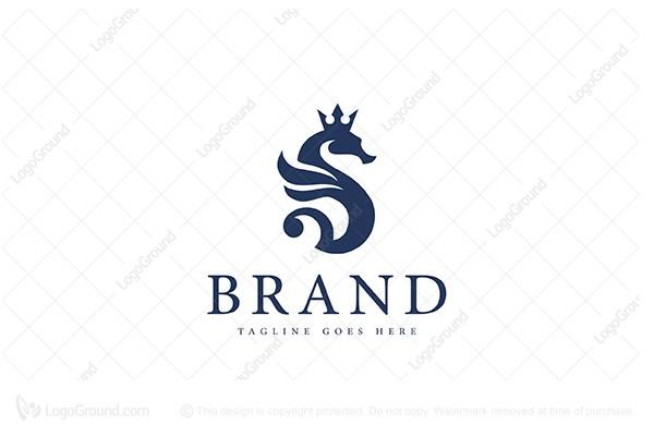 Seahorse Logo Logos Tourism Logo Travel Logo
