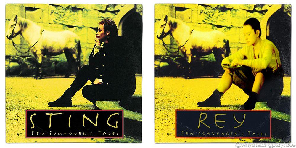 Star Wars Rey Sting Ten Summoners Tales Vinyl Album Mash