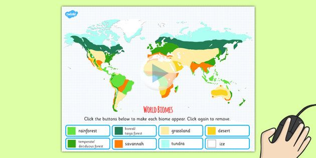 Interactive world biomes map powerpoint climates geography interactive world biomes map powerpoint climates geography gumiabroncs Image collections