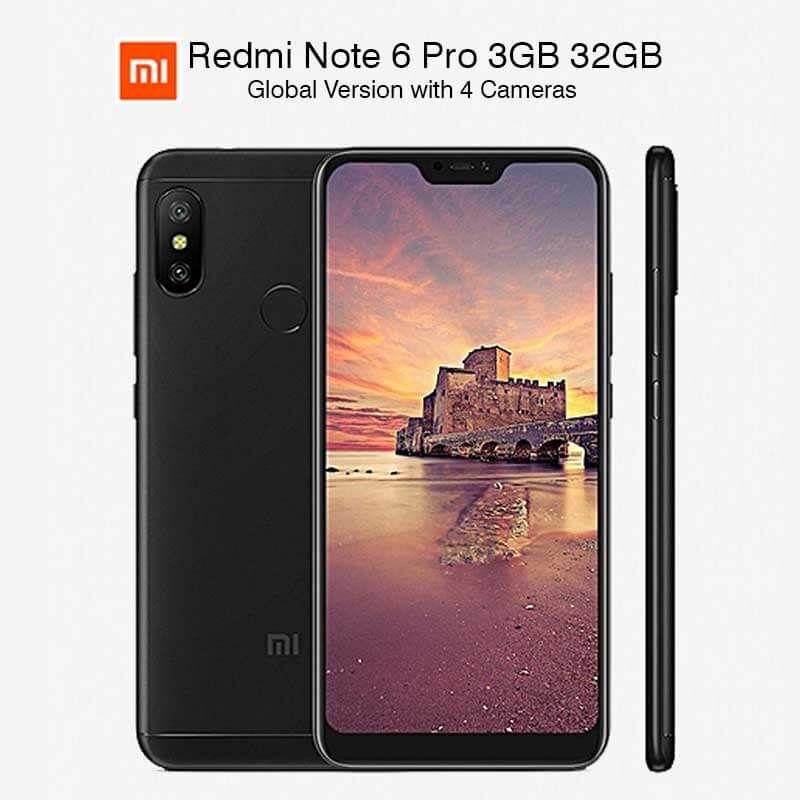 Global Version Xiaomi Redmi Note 6 Pro 3gb 32gb Snapdragon 636 Xiaomi Notes Snapdragons