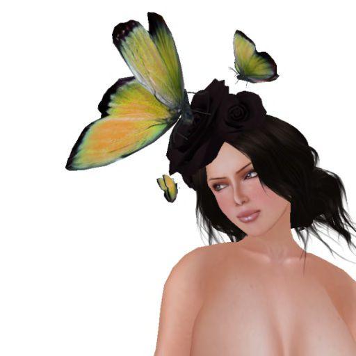 AtomicBambi Hat - Madame Butterfly (Sunshine)