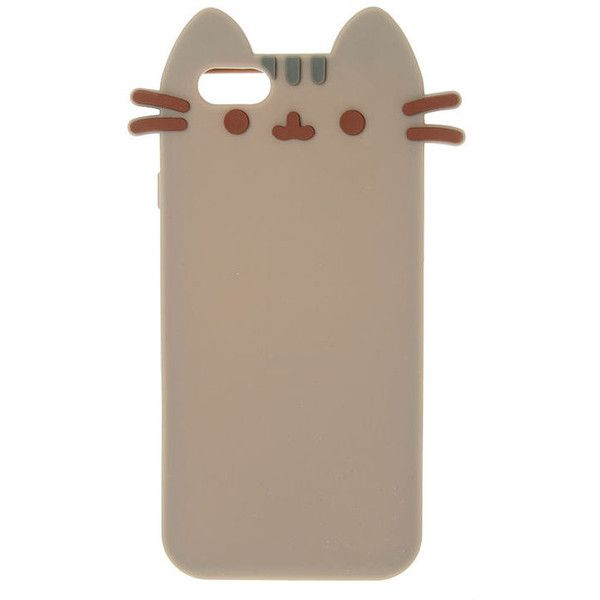 Silicone Pusheen Phone Case ($17) Liked On Polyvore