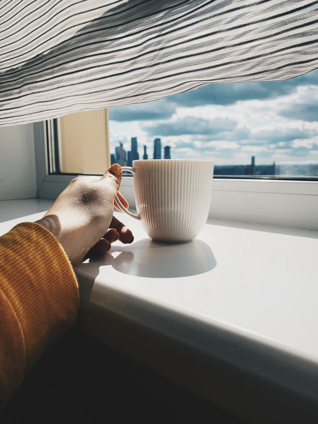 Person Holding Cup On Window Hd Wallpaper Coffee Wallpaper Stock Images Free Coffee Cup Pictures