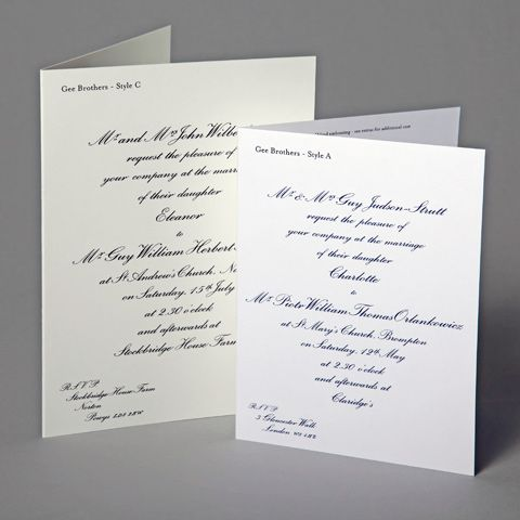 Traditional Folding Invitations Wedding Invitations Wedding