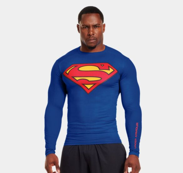 MEN'S UNDER ARMOUR® ALTER EGO COMPRESSION LONG SLEEVE