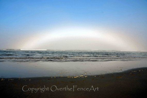 Nature Photography Morning Mist Rainbow on by overthefenceart, $4.00