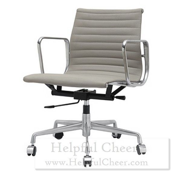 mid aluminum office chair white italian. The Quattro Office Chair Is A Mid-century Modern Made Of Commercial-grade Aluminum And Premium Italian Leather. Comfortable Stylish Mid White