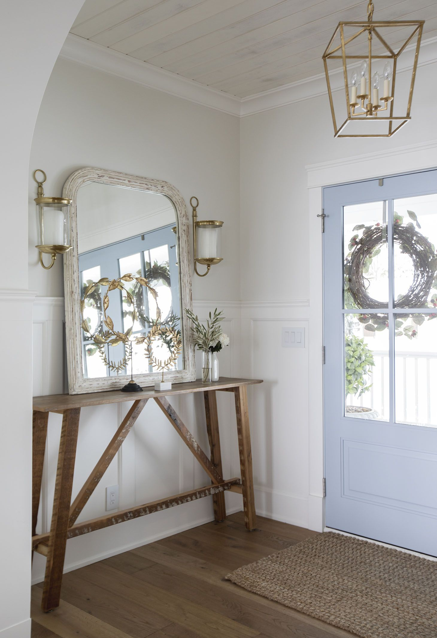 Home Tour Series Entryways Decorating Foyer Design