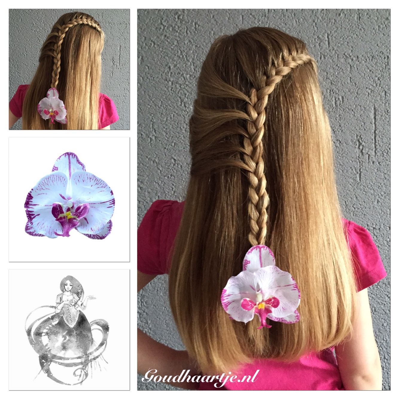 Simple Lace Braid Hairstyles Hair Styles Braids For