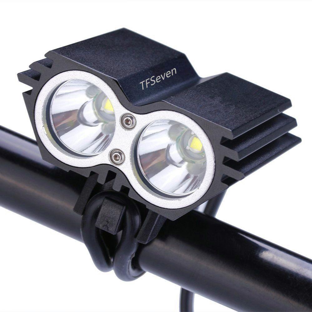 Cycling Led Light Headlamp Tfsevena 5000 Lumen U2 Xml Cree