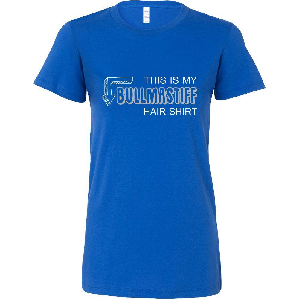 Bullmastiff Shirt - This is my Bullmastiff hair shirt - Dog Lover Gift