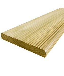 20 Value Decking Boards 19 X 118mm Cheap Tanalised Garden Decking Fast Free
