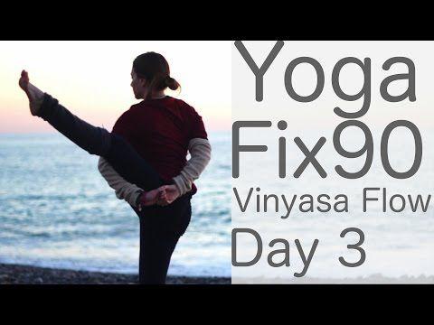 yoga practice day 3 vinyasa flow to bird of paradise