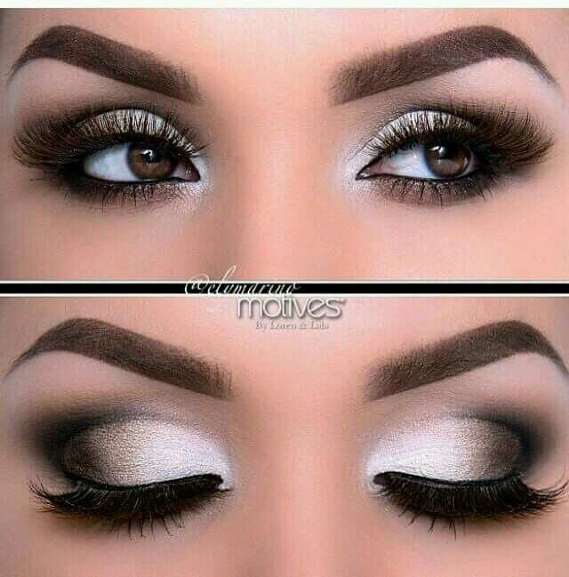 Maquillaje De Ojos Para Vestido Negro Con Plata Vestidos