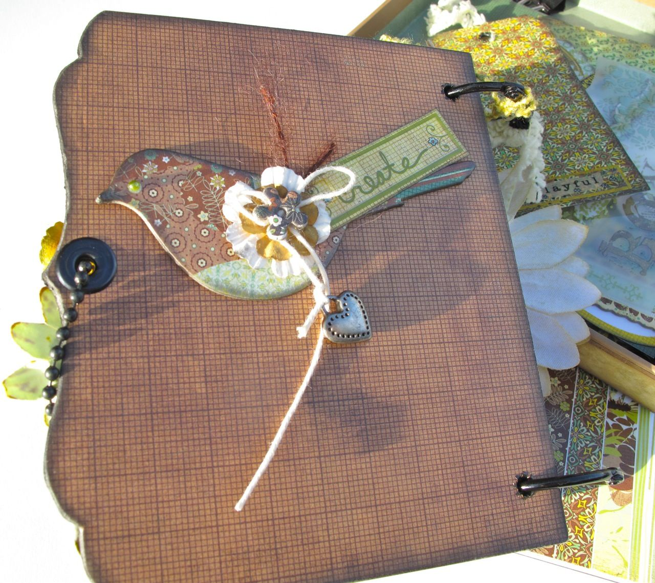 How to make scrapbook video - With A Grin Scrapbooking How To Make A Mini Album For