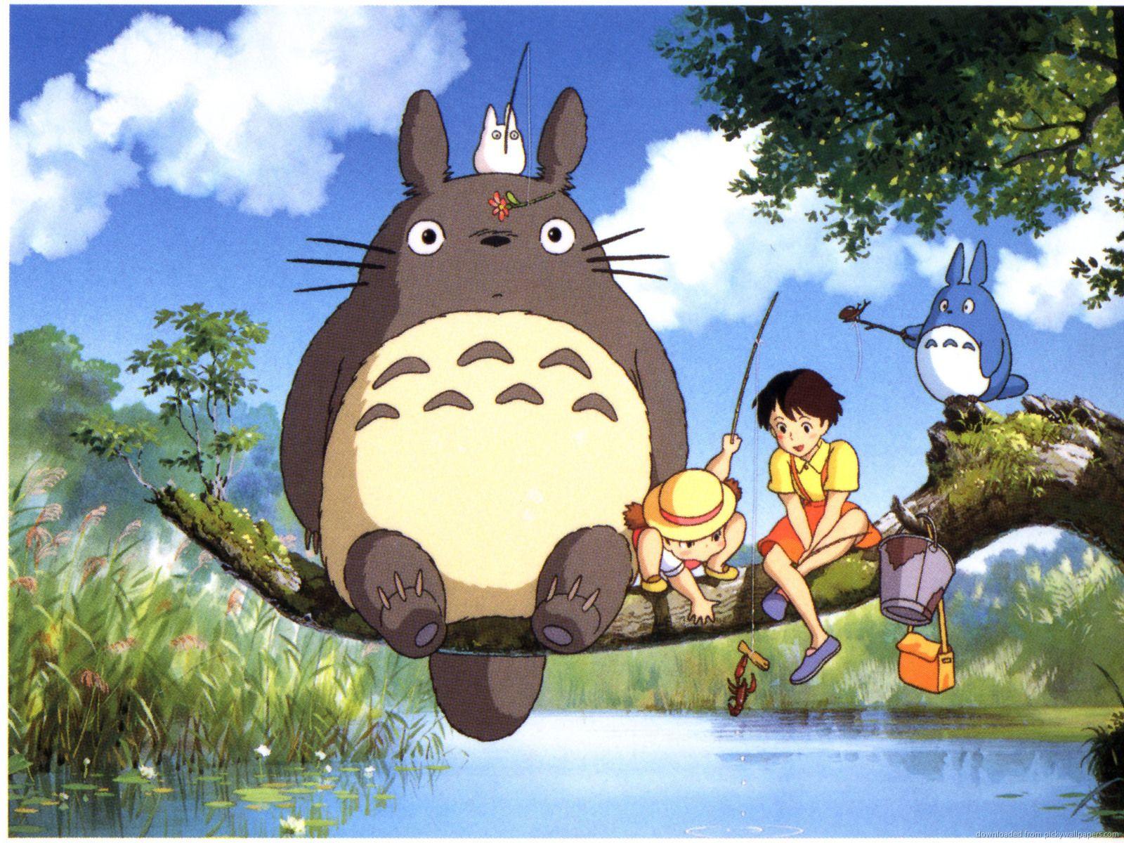 Totoro+Wallpaper Free Download Anime Neighbor Totoro