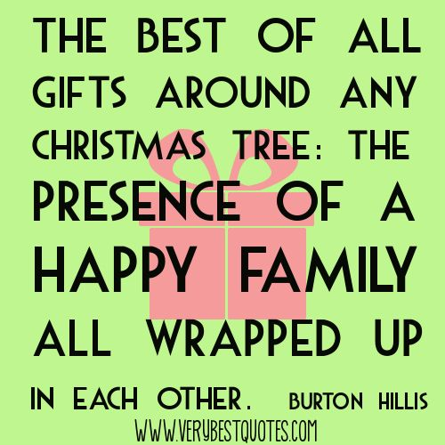 b>Christmas</b> gift <b>quotes</b> <b>and family</b> <b>quotes</b ...