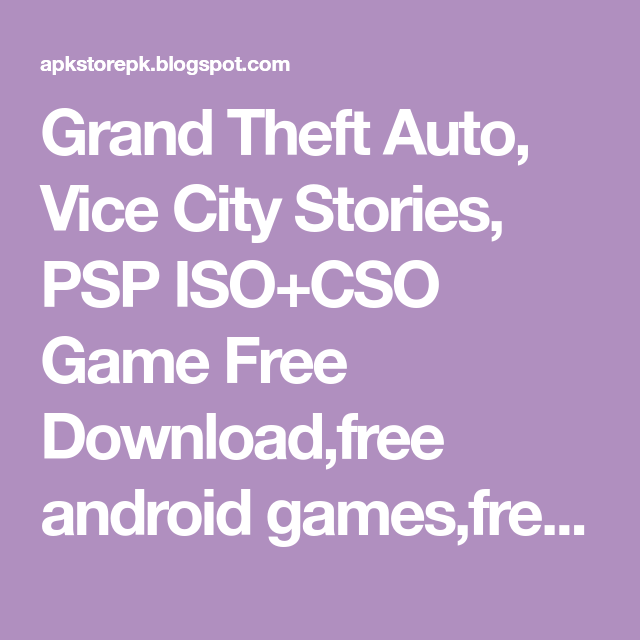 how to download gta vice city stories for android