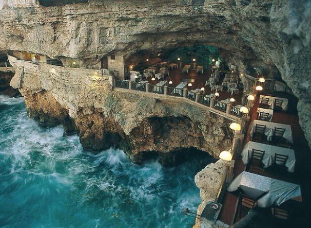 Italy's Oceanside Restaurant ❤️ #oneday