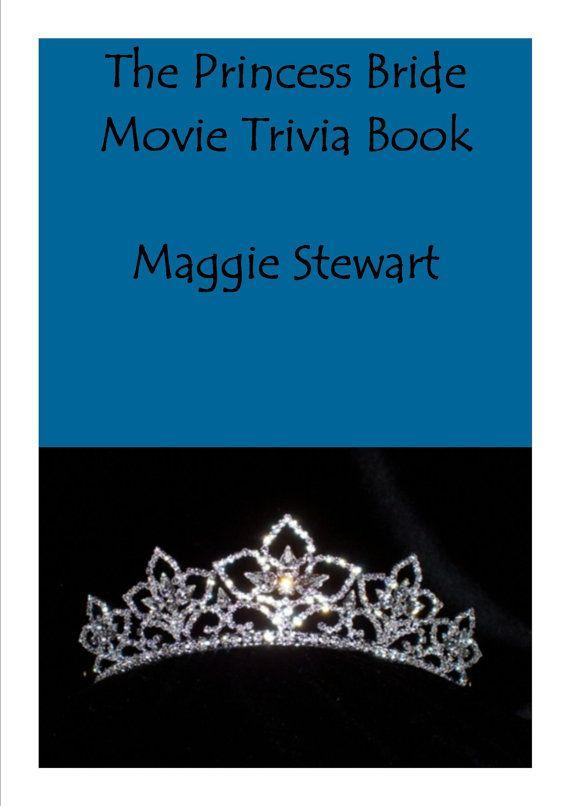 the princess bride movie trivia book by lacartapapier on etsy