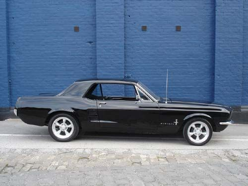1967 Ford Mustang Coupe Mustang Coupe Black Mustang Ford Mustang Coupe