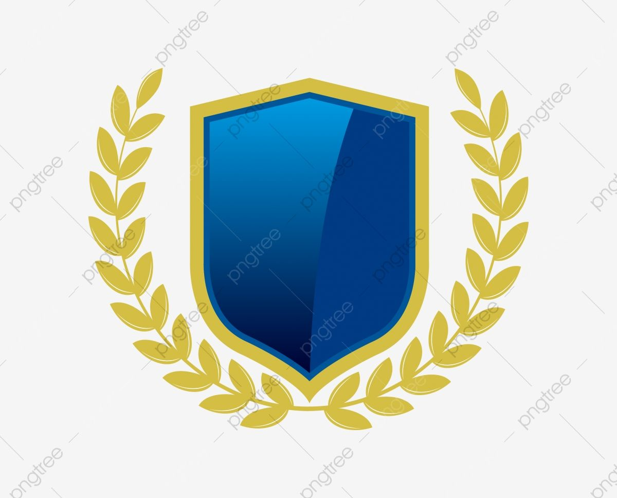 Golden Wheat Ears Blue Shield Vector Free Png Golden Wheat Blue Shield Shield Png And Vector With Transparent Background For Free Download Vector Free Shield Vector Blue Shield