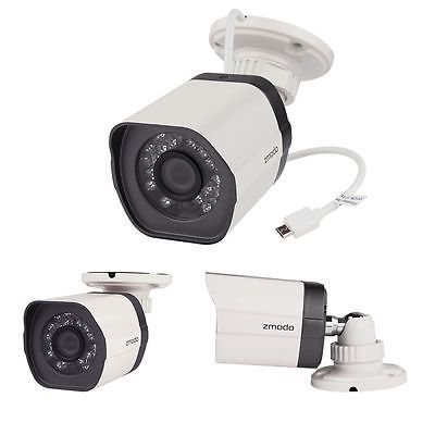 Details about Zmodo 720p sPoE Hd Outdoor Wired Camera ZP