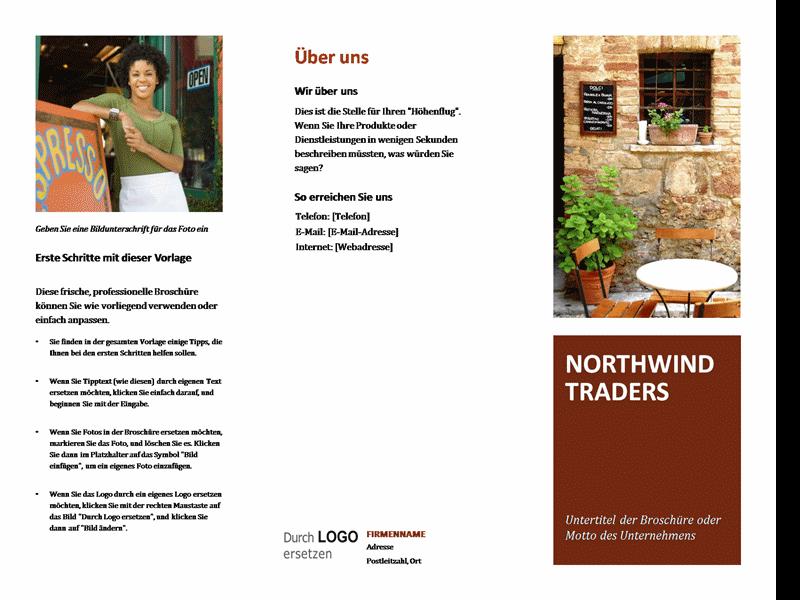 Broschüre für kleine Unternehmen | MS Vorlagen | Pinterest | kleine ...