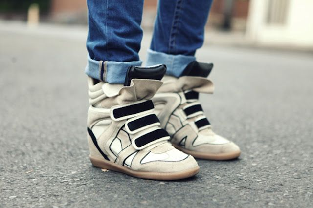isabel marant willow high-tops.  the more i look at them the comfier they get.