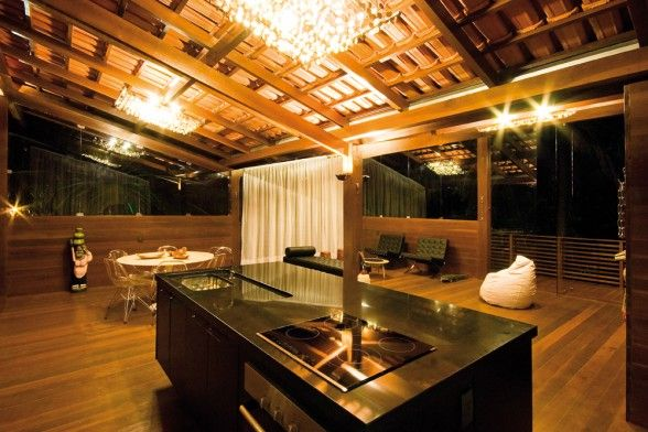 Tropical kitchen & Tropical kitchen | Dream Home | Pinterest | Tropical kitchen ...