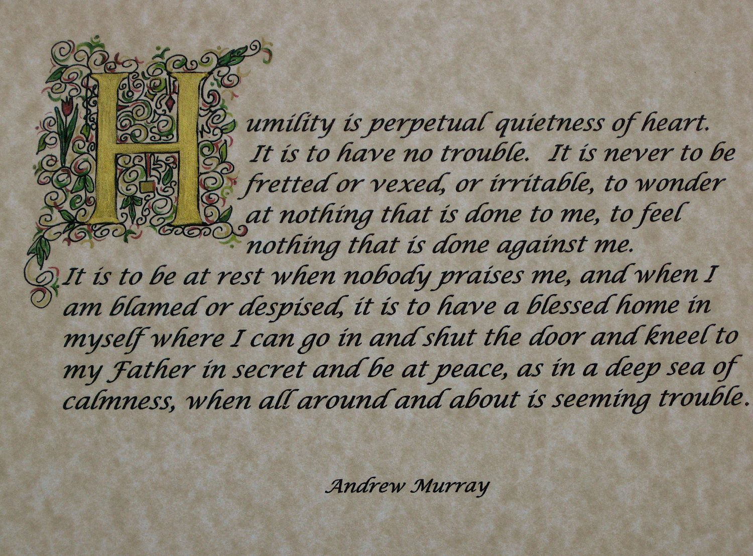 One Of My Favorite Andrew Murray Quotes Grow In Grace Humility