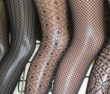 Inspiring picture black, fashion, lace, legs, style, tights. Resolution: 500x374 px. Find the picture to your taste!