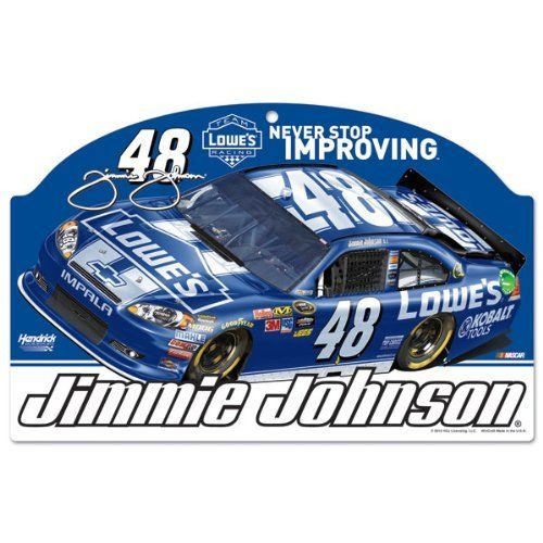 Jimmie Johnson 11x17 Wood Sign By Wincraft 22 99 Hardboard Wood Signs Are 1 4 Thick Decorated With Quality Graphics T Wincraft How To Antique Wood Johnson