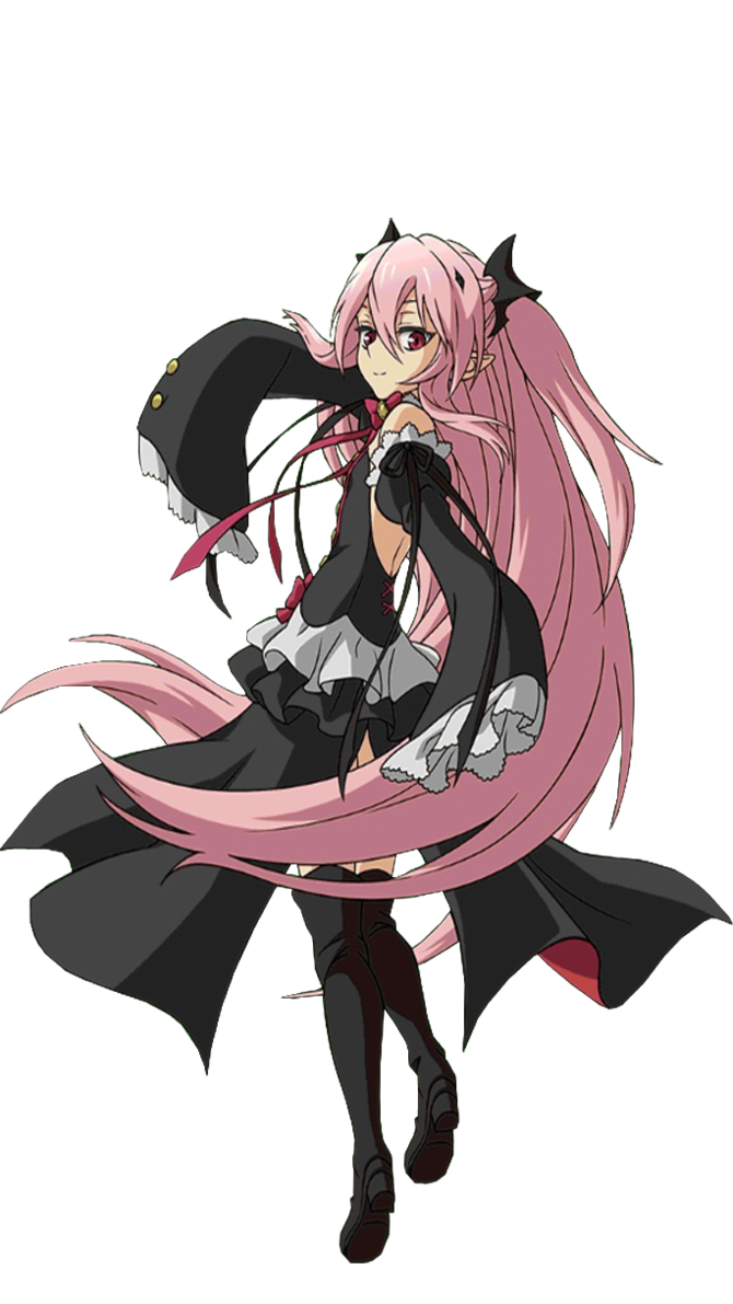 Pin By Frankie Carbno On Krul Tepes Owari No Seraph Black Dress Owari No Seraph Anime Anime Characters