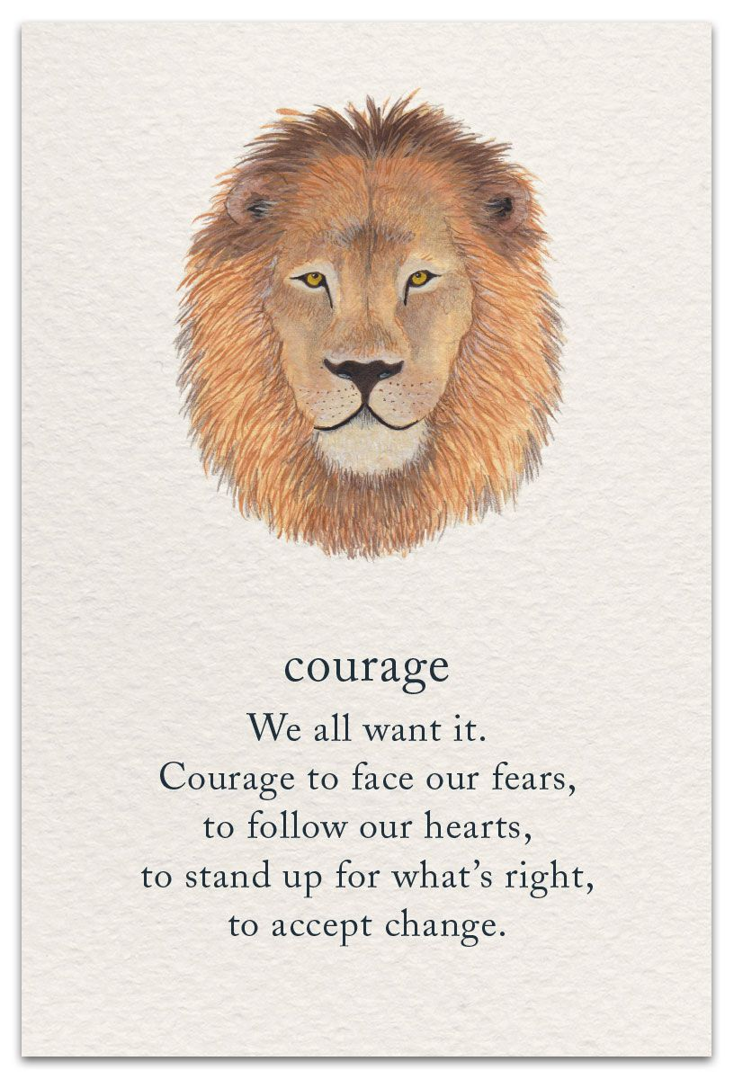 Courage | Support & Encouragement Card | cardthartic.com