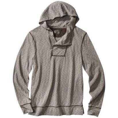 Converse® One Star® Men's Hoodie Gray Stripe | Grey hoodie