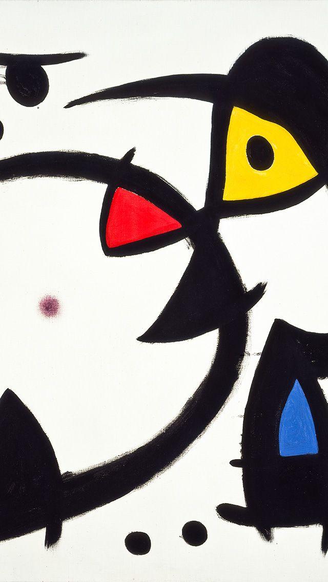 as28-fine-art-abstract-joan-miro-blue-classic-paint-art-illustration ...