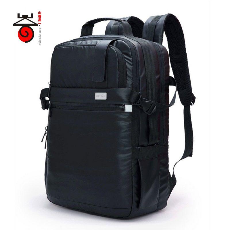 2017 Senkey style Fashion Large Capacity waterproof MULTIFUNCTION laptop backpack men Leisure Travel for teenage backpack bag #Affiliate