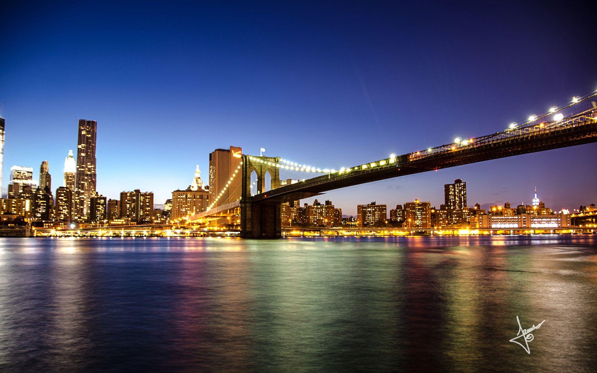 Brooklyn Bridge New York Hd Desktop Wallpaper Wallpapersme Brooklyn Bridge New York New York Wallpaper Brooklyn Bridge Pictures