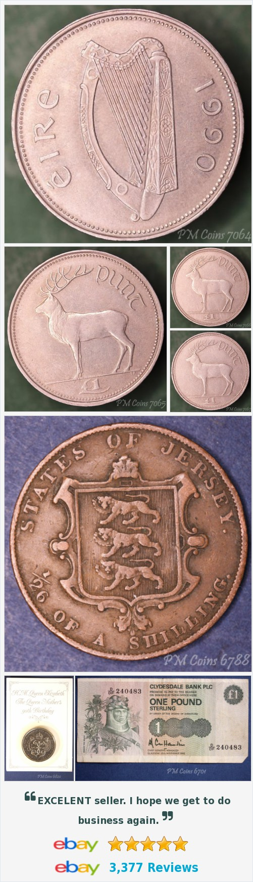 Ireland - Coins and Banknotes, UK Coins - Half Crowns items in PM Coin Shop store on eBay! http://stores.ebay.co.uk/pmcoinshop