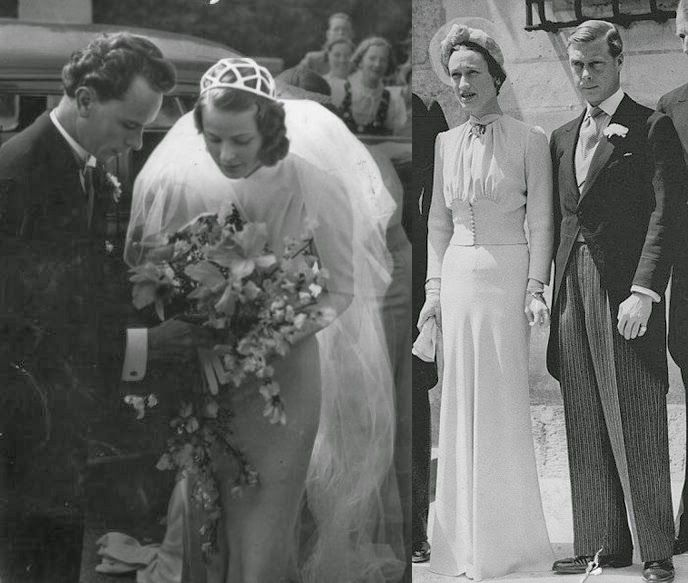 Vestido de novia de wallis simpson