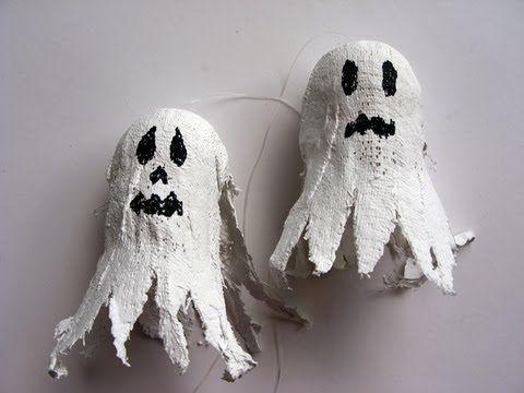 Manualidades Halloween Fantasma Para Dia De Muertos Ghost Halloween Crafts Halloween Crafts Decorations Crafts