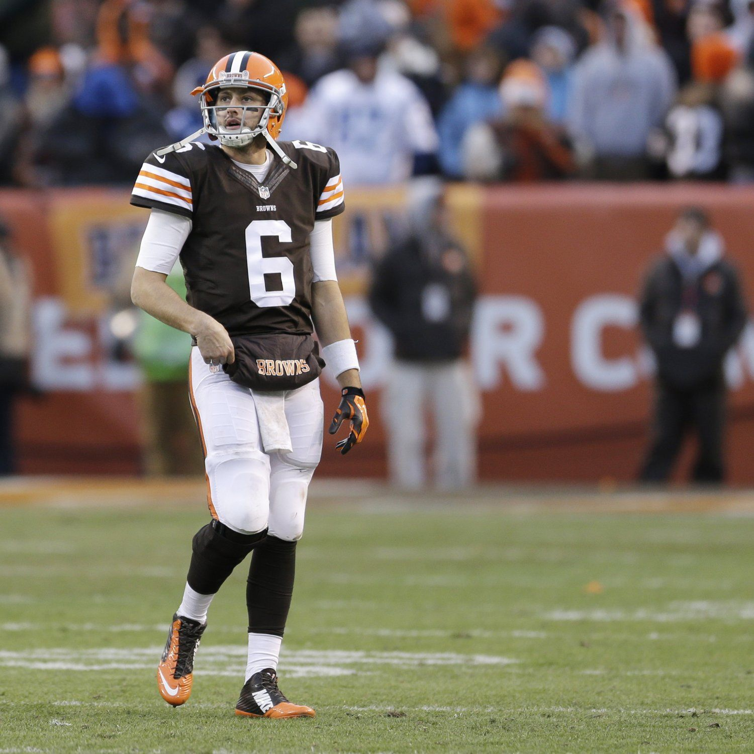 Mike Pettine May Have Cost Browns Playoff Shot By Starting Brian Hoyer Cleveland Browns Brown Indianapolis Colts
