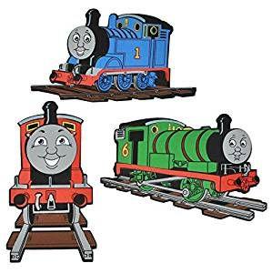 3 Tlg Set 3 D Wandtattoo Wandbild Turschild Thomas Die Lokomotive Aus Moosgummi Eisenbahn Lok Wandst Kinder Zimmer Kinderzimmer Thomas Die Lokomotive