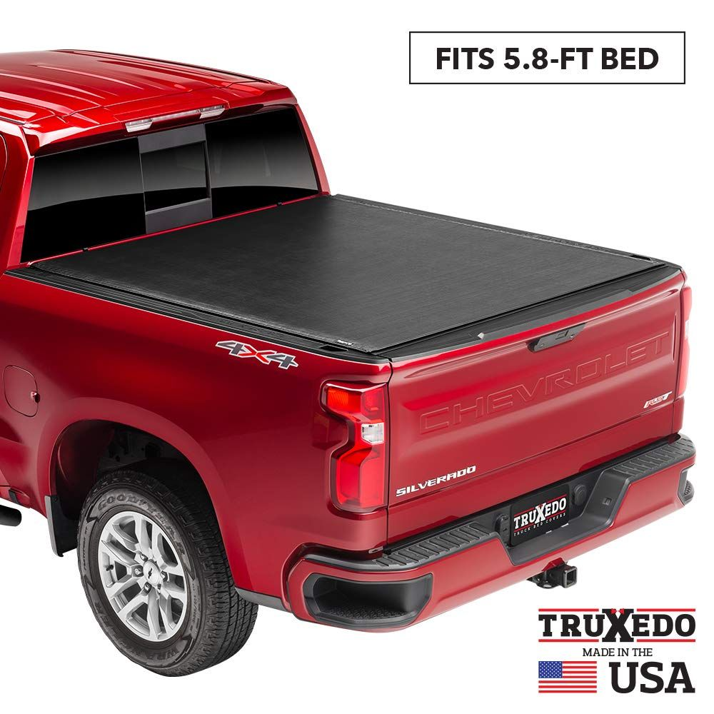 Truxedo Sentry Hard Rolling Truck Bed Tonneau Cover 1572401 Fits 2019 2020 New Body Style Gmc Sierra And Chevrolet Silv Tonneau Cover Chevy Silverado Gmc
