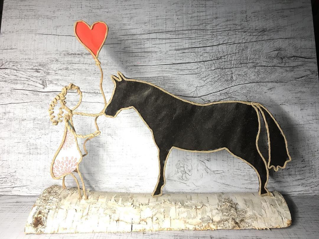 ❤️🐴#papierdraht #selbstgemacht #vielenliebendank #pferdeliebe #pummelpony