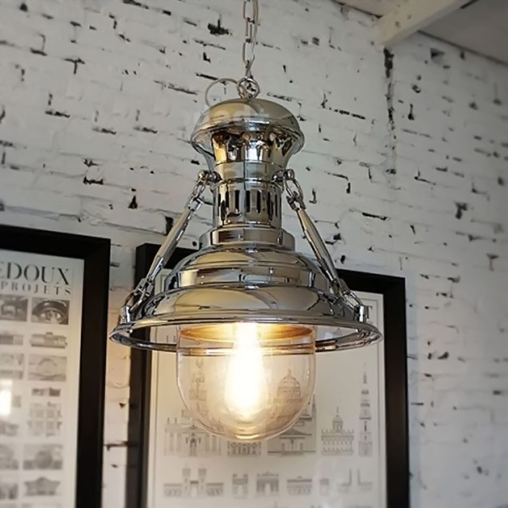 American industrial droplight vintage artillery shell pendant lights