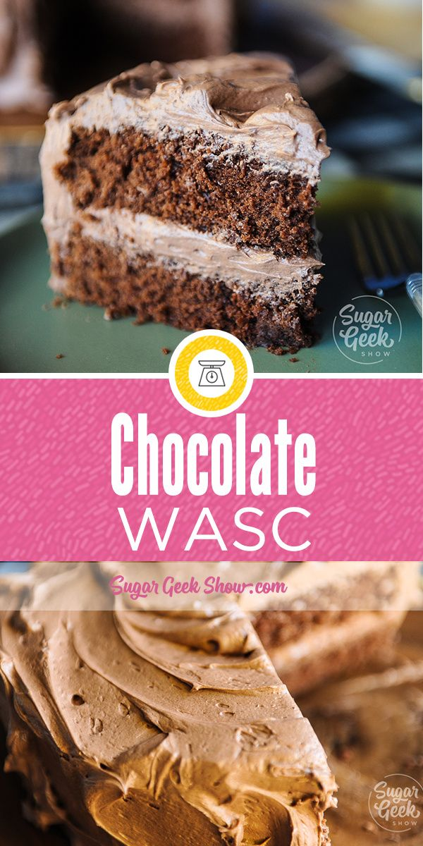 Chocolate Wasc Is The Chocolate Version Of Our Popular Wasc Recipe